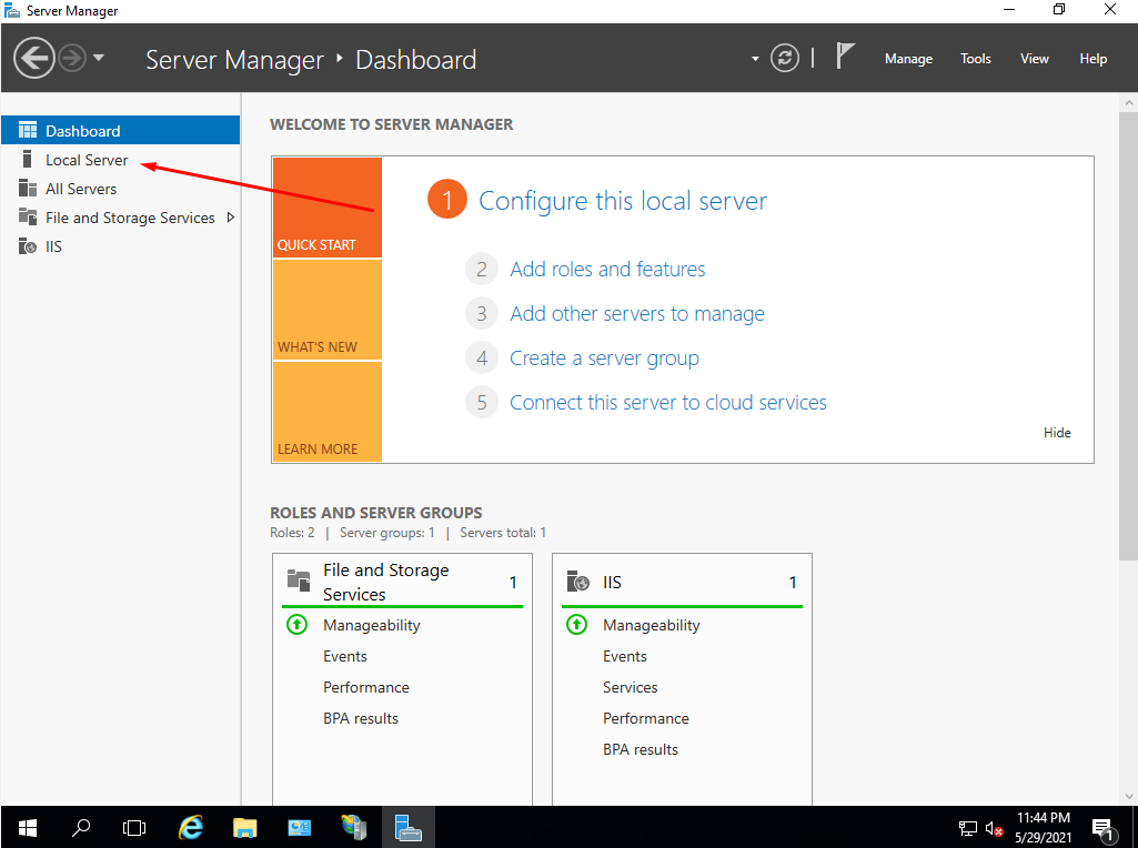 How to stop IE Enhanced Security in Windows Server