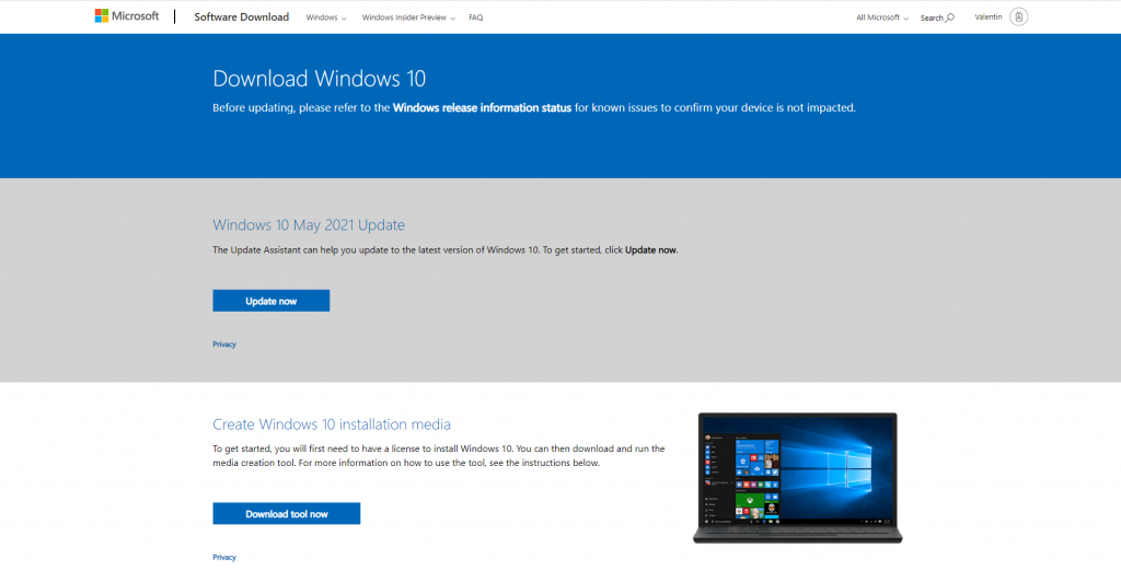 How to download Windows 10 for free