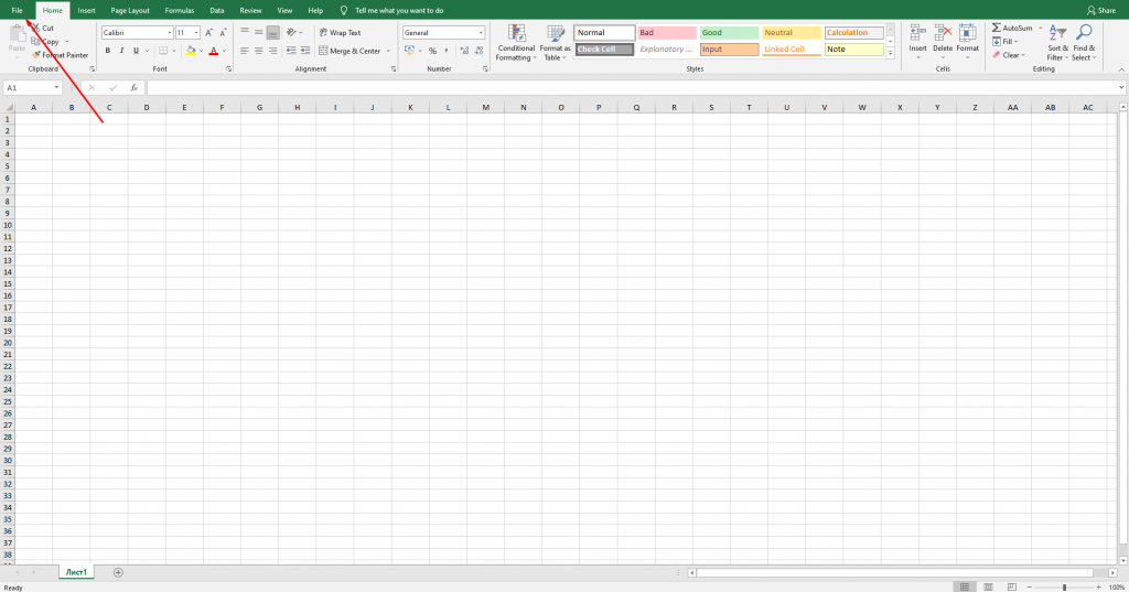 How to turn on drag and drop in Excel